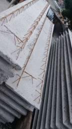 Lajes treliçadas painel Tijolo/isopor a partir R$ 42,00 m2