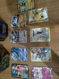 Cartinhas Pokémon com mais duas caixas