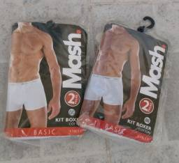 Kit de 2 cuecas boxe Mash