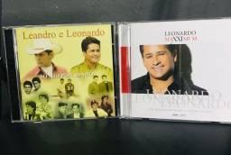 CDs Leonardo e Leandro e Leonardo (raro)