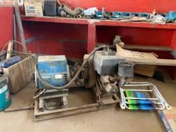 Grupo gerador com motor yamar e gerador de 6 KV