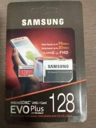 Título do anúncio: Cartão de memória microsd Samsung 128gb *lacrado