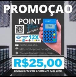 Título do anúncio: MÁQUINA DE CARTÃO ( KIT QR CODE E PIX GRÁTIS )