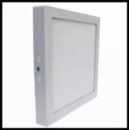 Título do anúncio: Plafon Luminária Led Quadrado Sobrepor 22x22 18w -Promoção! - Mega Infotech distribuidora