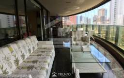 (EA) Apartamento Mobiliado com 430 metros a venda no Meireles