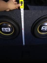 """Usado, Fb audio 12"""" 1600 rms comprar usado  Diadema"""