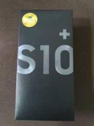 Galaxy S10 Plus, 128GB. 8GB De Memória RAM na caixa Chegou hoje
