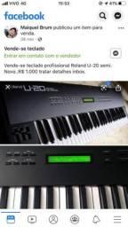 Vende-se teclado Roland