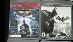 Batman Arkham City E Batman Arkham Asylum ps3 mídia física