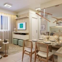 Apartamento de 2 quartos em Goiânia com sinal de 100 Reais