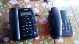 2 telefones e um mouse sem fio