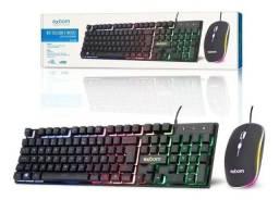 Kit Teclado e Mouse Gamer usb BK-G550- NOVO