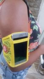 Braçedeira para celular