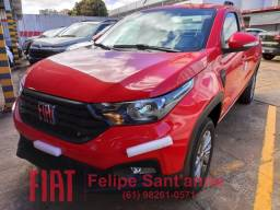 Nova Fiat Strada Freedom 1.3 Cabine Plus c/ multimídia Android Auto e Apple Carplay 2021