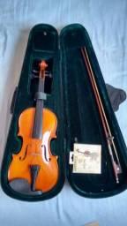 Violino seminovo R$ 250,00 leia a descrição