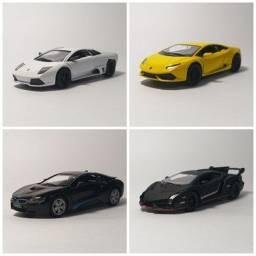Miniaturas de Carros e Carretas idênticos as versões originais