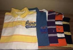 Camisetas e camisas originais - aceito cartão