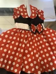 Vestido Minnie festa