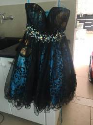 Vestido de festa novo, tamanho PP