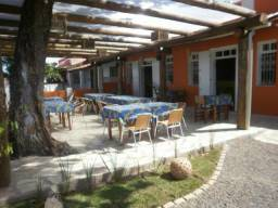 Restaurante , Pousada, frente a baia de todos o santos, ilha de Itaparica