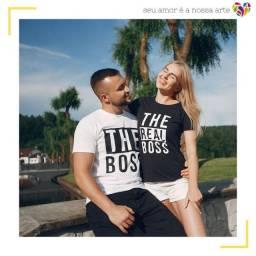 Kit Camisas personalizadas casal