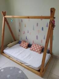 Cama infantil Montessoriana (R$400,00)