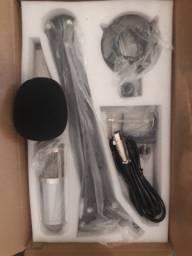 Vendo ou troco microfone B.M800 com braço articulado