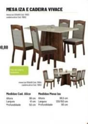 Mesa de jantar maravilhosa barata mesa completa