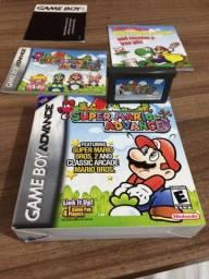 Super Mario advance game boy advence - passo cartão
