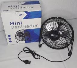 (NOVO) Mini Ventilador Luatek