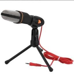 (NOVO) Microfone SF 666 condensador preto
