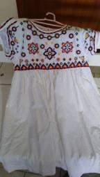 Vestido infantil tamanho 10