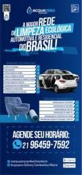 Higienização automotiva e residencial