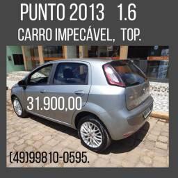 Fiat Punto 1.6 2013 impecável