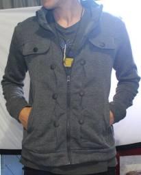 Super Promoção!Jaqueta slim, casaco moletom masculino B39