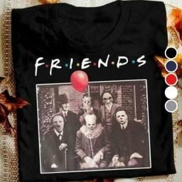 Camiseta friends e regata fitness