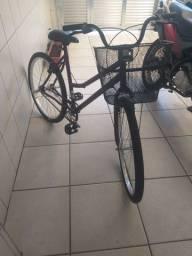 Bicicleta aro 26 nova sem uso roxa parcelo em 10 x n cartão