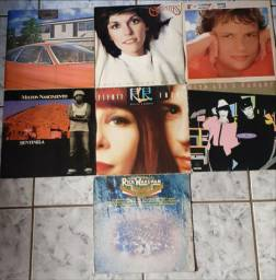 Lote de discos: Carpenters, Rita L. e Roberto, Guilherme A., Milton N. e Rick W