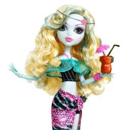 Acessórios boneca Monster High Lagoona Blue