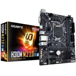 Kit 1151 9 Geração - Gigabyte - Intel i3-9100F - M.2 120GB - 8GB Memória