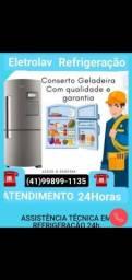 ELETROLAV Refrigeração Melhor Empresa Pra Consertar  Sua Geladeira