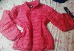Jaqueta vermelha unissex