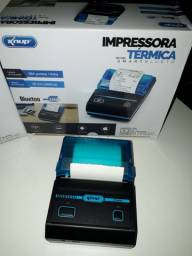 Impressora Portatil Bluetooth Termica Kp-1020 Knup
