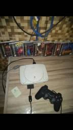 Título do anúncio: Playstation 1  completo