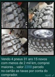 Pneus aro 15x31x10.5