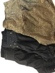 Combo 3 shorts - tamanho m