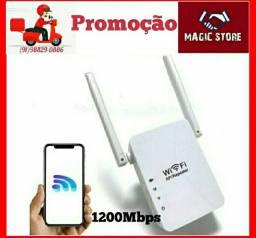 Repetidor Wifi Duas Antenas 1200Mbps ENTREGA GRÁTIS