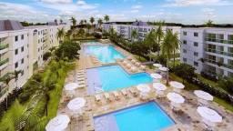 MELO* 03 quartos, frente piscina, 3 qts., 1 suíte, 1 vaga, mobiliado.