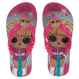 Chinelo Infantil LOL Surprise Moments Rosa