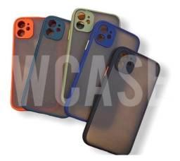 Capa case fosca iPhone 7/8 7/8 Plus Xr Xs max 11/11pro max 12/12 pro 12 pro max